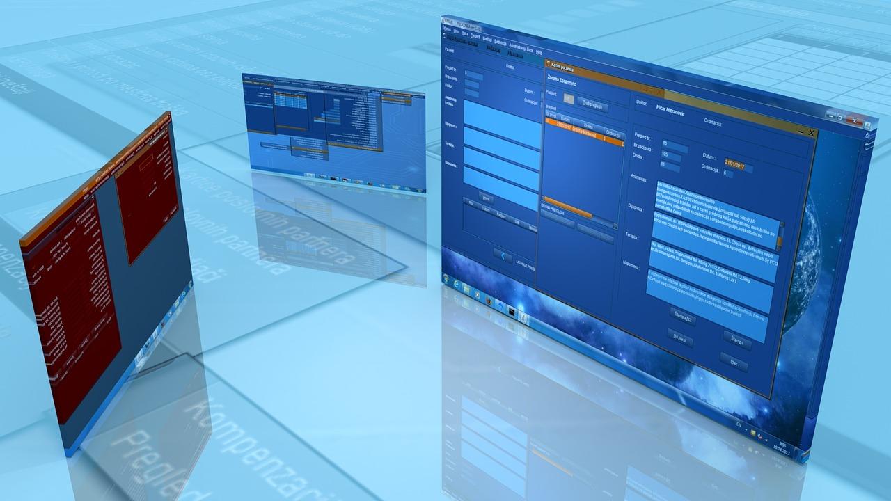 criação de sites - janelas